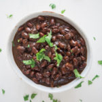 Coconut Curry Baked Beans | These vegan and gluten free baked beans have an international twist! An easy, hearty, delicious, and vegan slow cooker recipe. | SeasonedVegetable.com