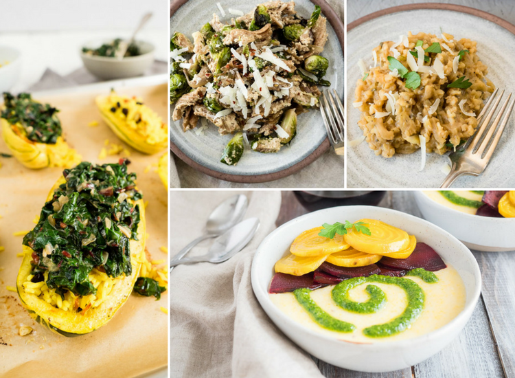 4 Vegetarian Thanksgiving Menus